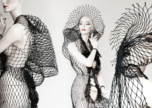 Agnes van Dijk modekunst eindhoven | fasion art ocean adventure DDW