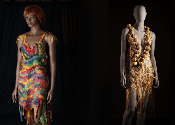 Agnes van Dijk fasionart, modekunst, modecapriole, fashion, mode, Eindhoven, the netherlands, nederland, Mother Earth & Eggshell dress