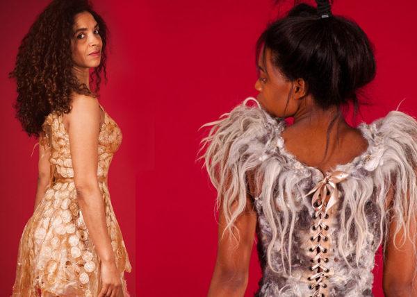 Agnes van Dijk fasionart, modekunst, modecapriole, fashion, mode, Eindhoven, the netherlands, nederland, Bas Heideschnucker & Juda Medal Dress