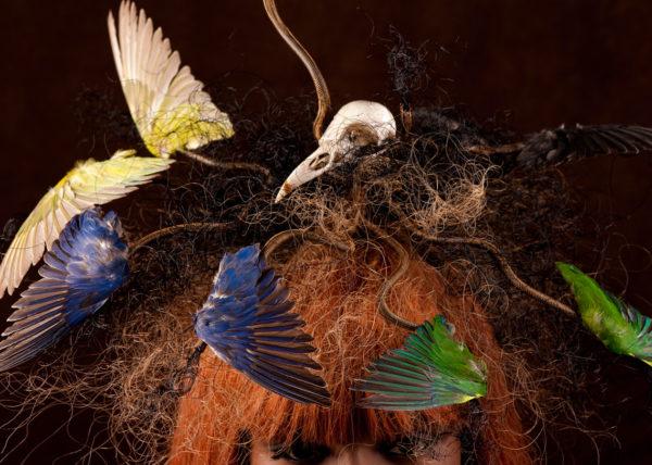 Agnes van Dijk fasionart, modekunst, modecapriole, fashion, mode, Eindhoven, the netherlands, nederland, headpiece