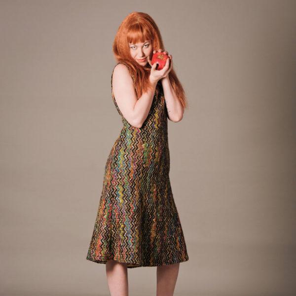 Agnes van Dijk fasionart, modekunst, Zigzag dress, Eindhoven the netherlands, nederland