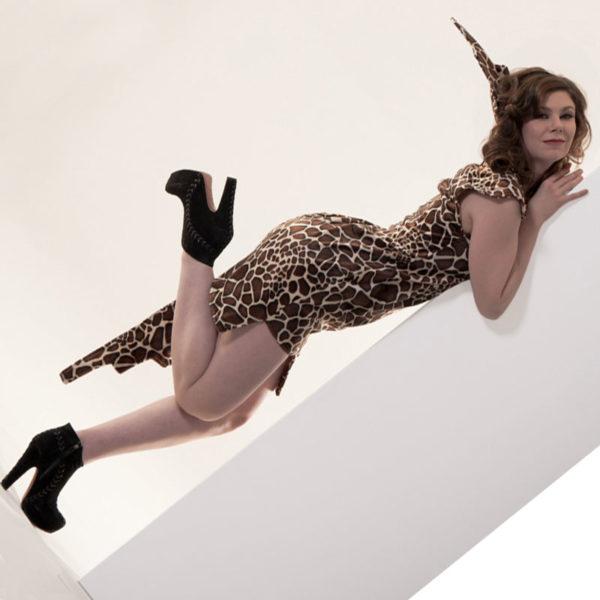 Agnes van Dijk fasionart, modekunst, Dress LongNeck, Eindhoven the netherlands, nederland