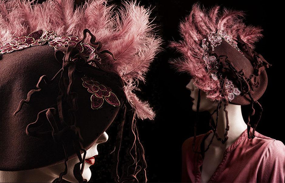 Agnes van Dijk modecapriole creatie Eindhoven  headpiece
