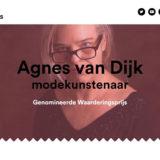 Agnes van Dijk modekunst eindhoven theater DDW modecapriole cultuurprijs 2019