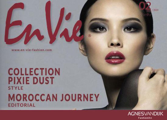 en vie fashion magazine, Agnes van Dijk - Modekunstenaar, Mode / Fashion 2020
