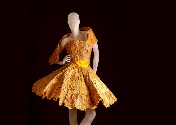 Sinasappel Dior   Agnes van Dijk - Modekunstenaar, Mode / Fashion 2020