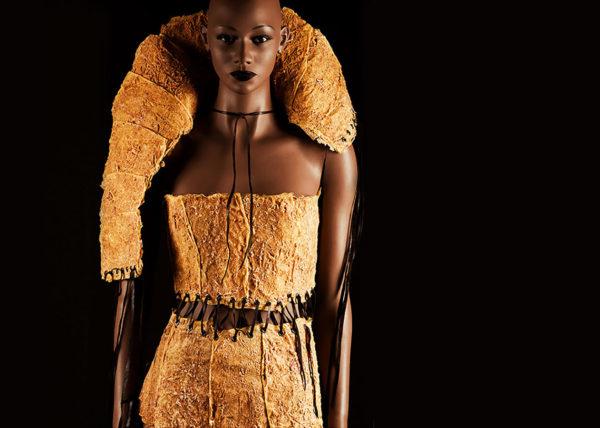 Sinasappelkraag I | Agnes van Dijk - Modekunstenaar, Mode / Fashion 2020