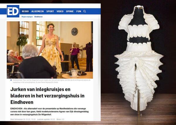 2020 - 2021 Eindhoven Agnes van Dijk in de media