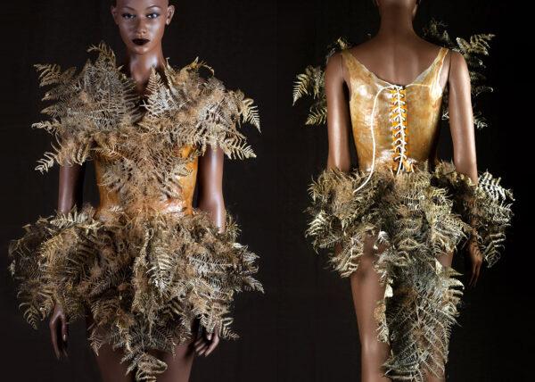 Agnes van Dijk mode kunst varens portfolio Agnes van Dijk