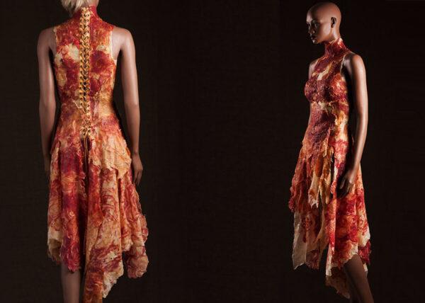Agnes van Dijk mode kunst  portfolio fashion art