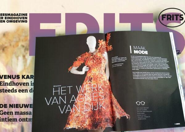 Frits Magazine 2020 eindhoven Agnes van Dijk in de media