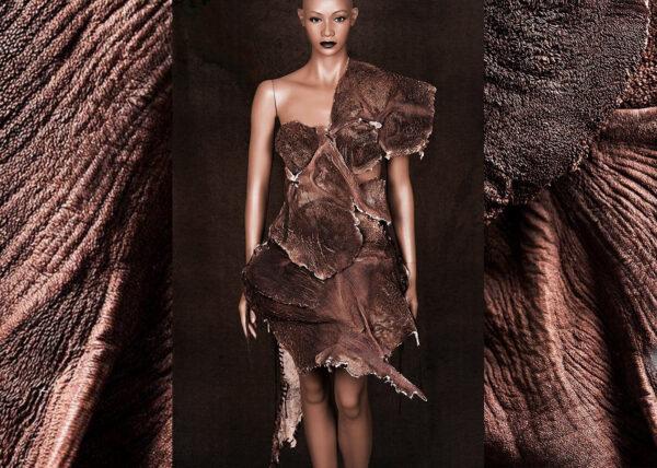 Agnes van Dijk mode kunst portfolio fashion art organ leather