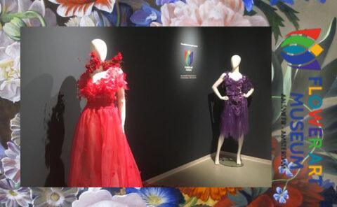 Flower Art Museum  Agnes van Dijk Modekunst Fashion 2021 exhibition