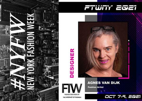 Agnes van Dijk Modekunst Fashion 2021 exhibition fashion tech week NY 2021