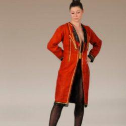 Agnes van Dijk fasionart, modekunst, Coat, Code Red, Eindhoven the netherlands, nederland