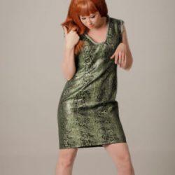 Agnes van Dijk fasionart, modekunst, Fancy Snake Dress, Eindhoven the netherlands, nederland