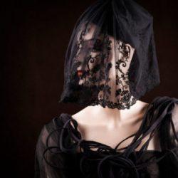 Agnes van Dijk fasionart, modekunst, Hat, black lace, Eindhoven the netherlands, nederland